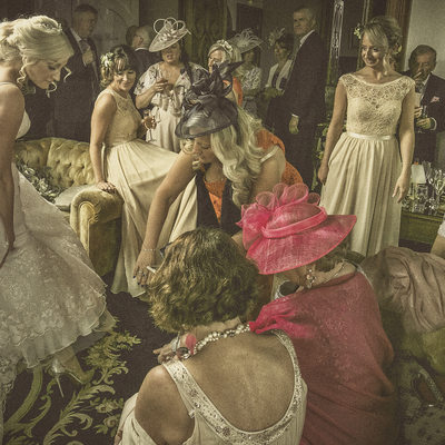 Chateau Rhianfa wedding images by Martin Vaughan Photography