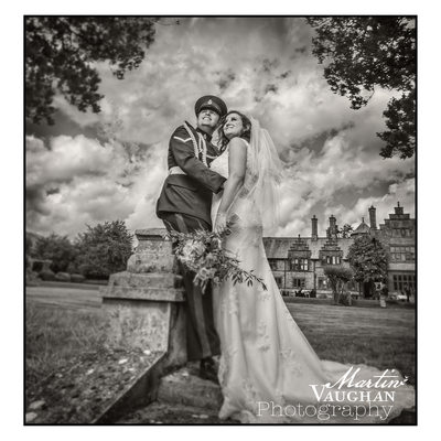 Caer Rhun Hall North Wales best wedding photographer Martin Vaughan