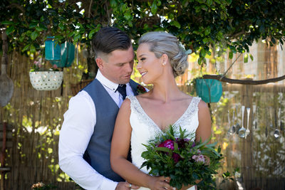 Bride and Groom at Sunshine Coast Hinterland Wedding