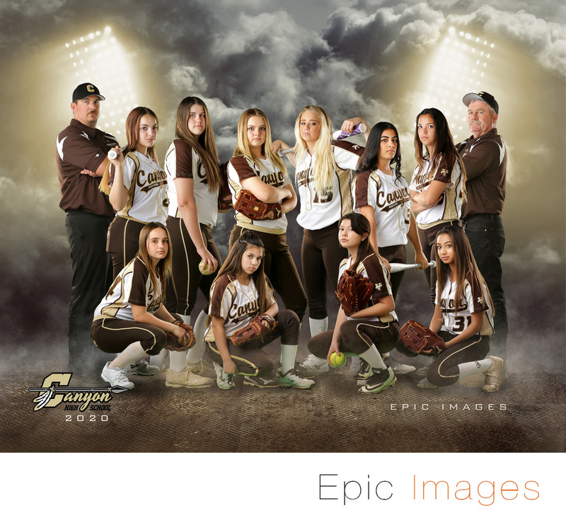 Canyon JV Softball 2018