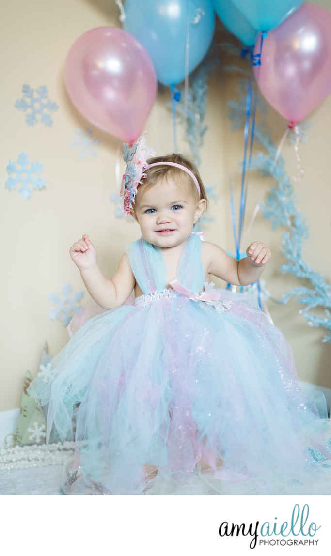 One Year Old First Birthday Photo Session Chicago Childrens Photographer Suburbs