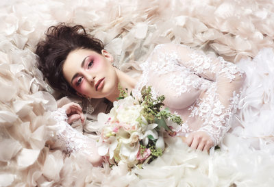 amy aiello photography editorial bridal photo shoot carmela rinella couture chicago wedding photographer avante garde bride