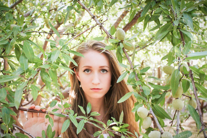 Bloom Portraiture Chico CA Senior Portrait Photographer