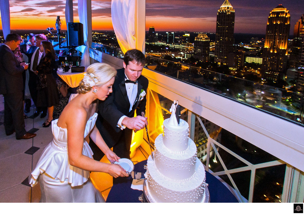 Peachtree Club wedding