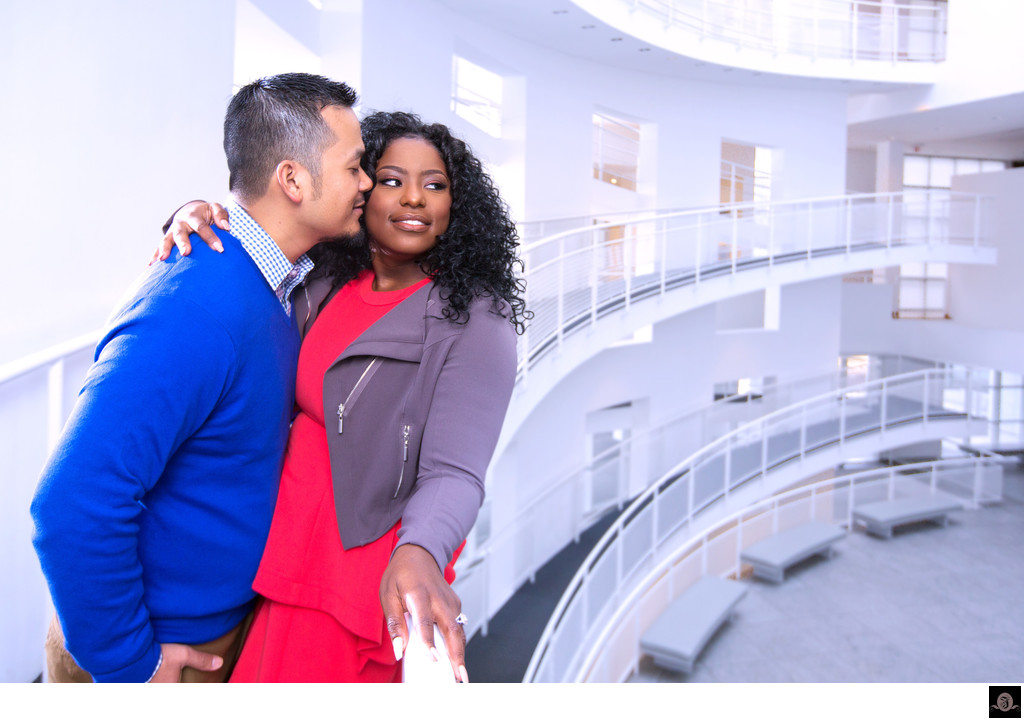 High Museum Engagement Photography