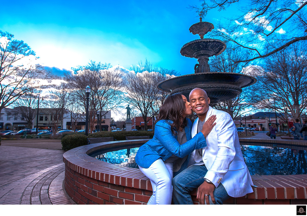 Best Atlanta Engagement Photographer