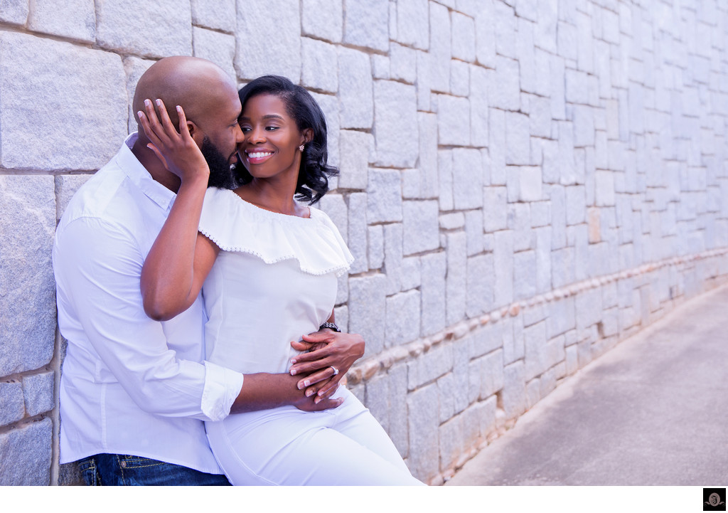 Historic Old Fourth Ward Park Engagement Photographer