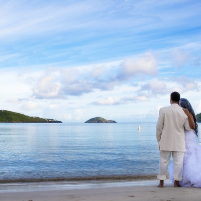 Magens Bay Beach Wedding Photographer