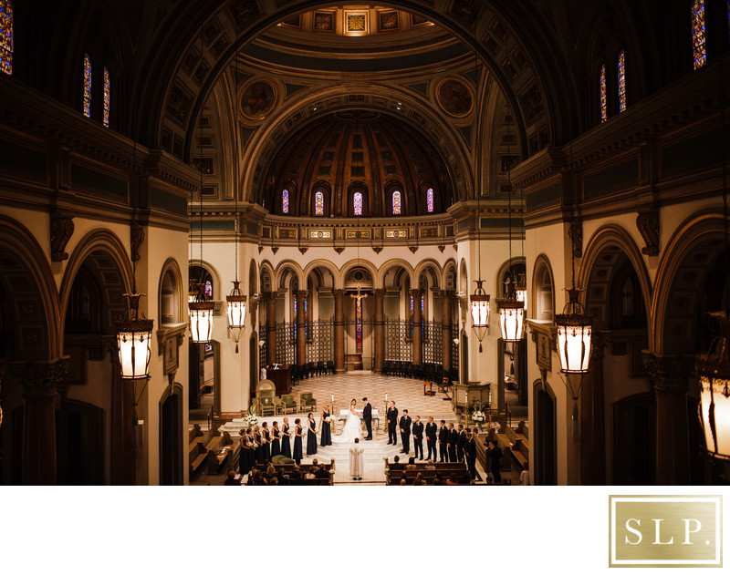 Cathedral of the Sacred Heart Wedding