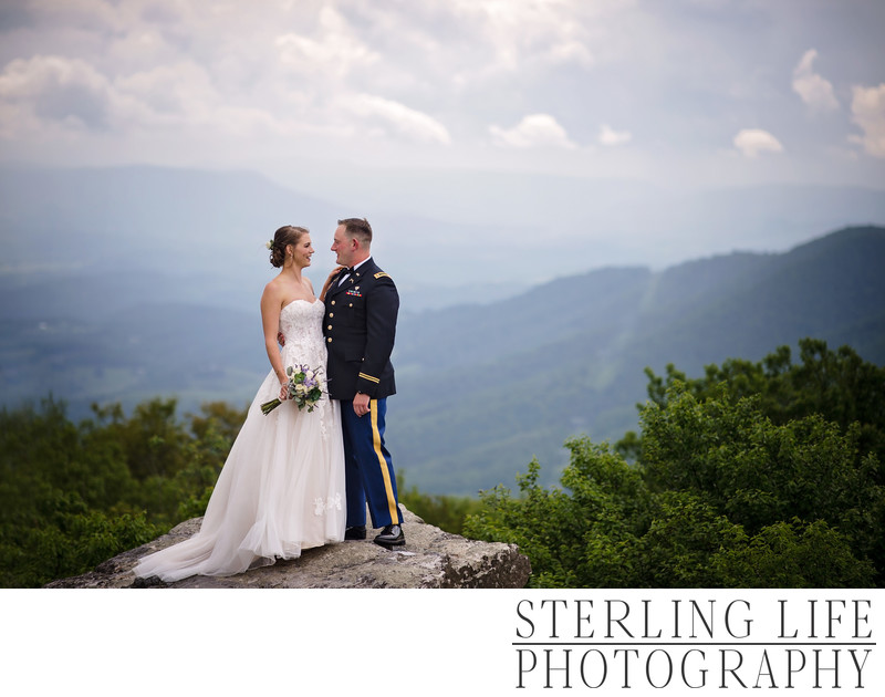 Mountain Top Wedding