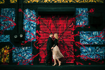 Graffiti Wall Engagement Session
