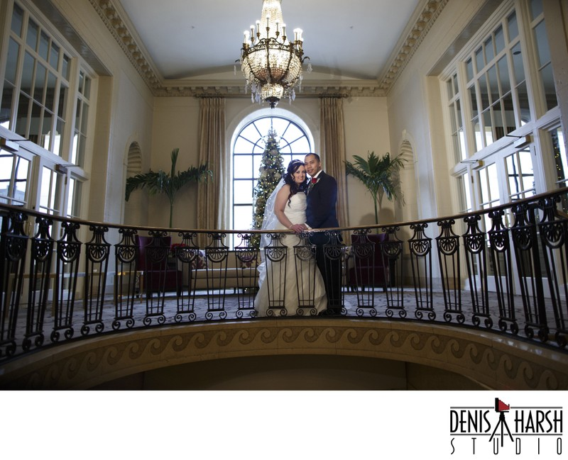 Peoria Photographers - Christmas Wedding at Pere Marquette