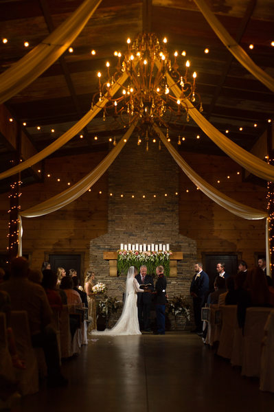 Wedding Ceremony Cloer Barn Chatsworth GA