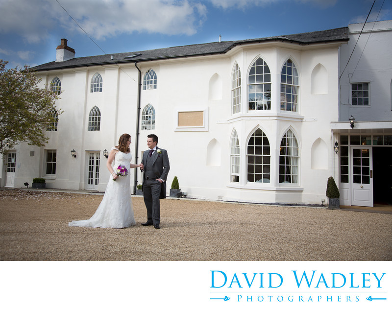 Wedding Photographs at Warwick House.