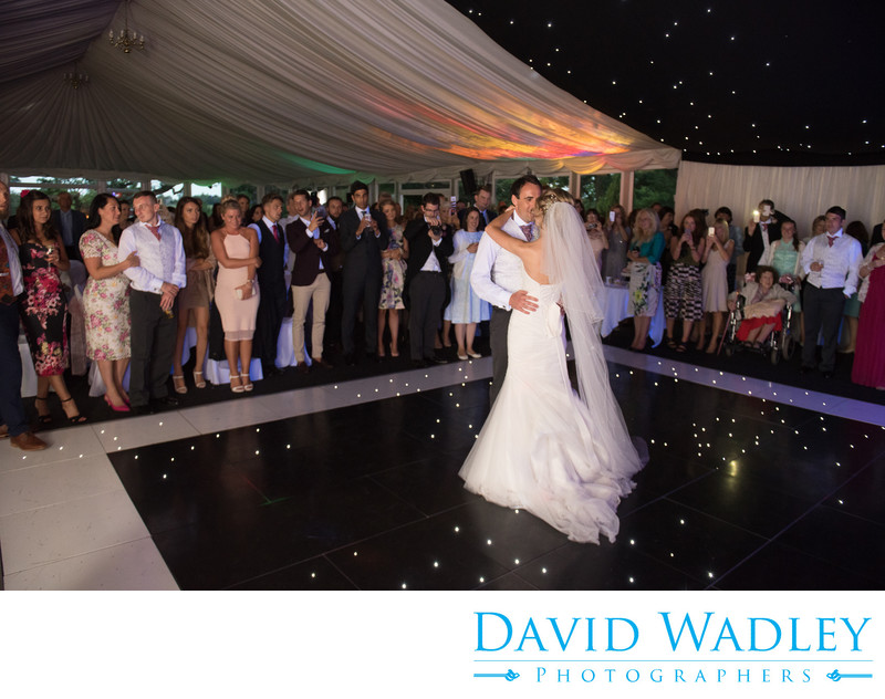 First dance at New Hall Hotel.