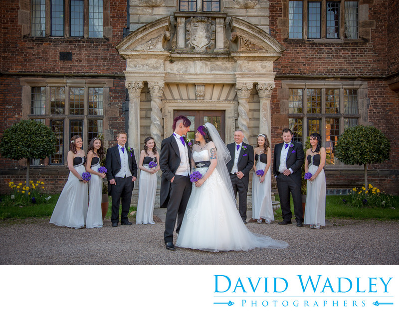 Castle Bromwich Hall Birmingham Wedding Party