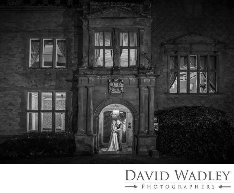 Grafton Manor Wedding Black & White