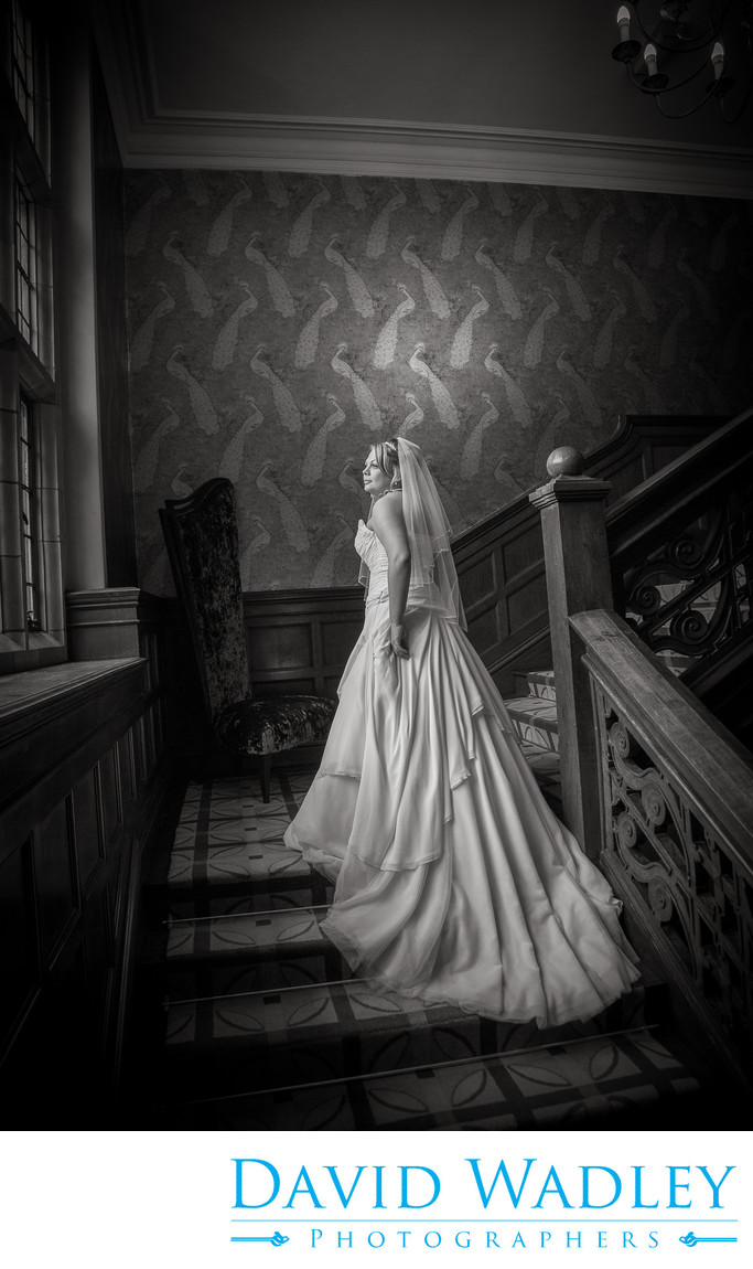 Black & White Photography at Moxhull Hall Hotel.