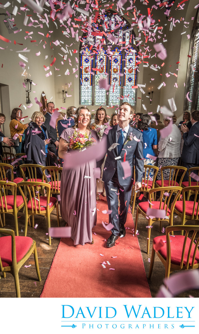 Confetti at Grafton Manor