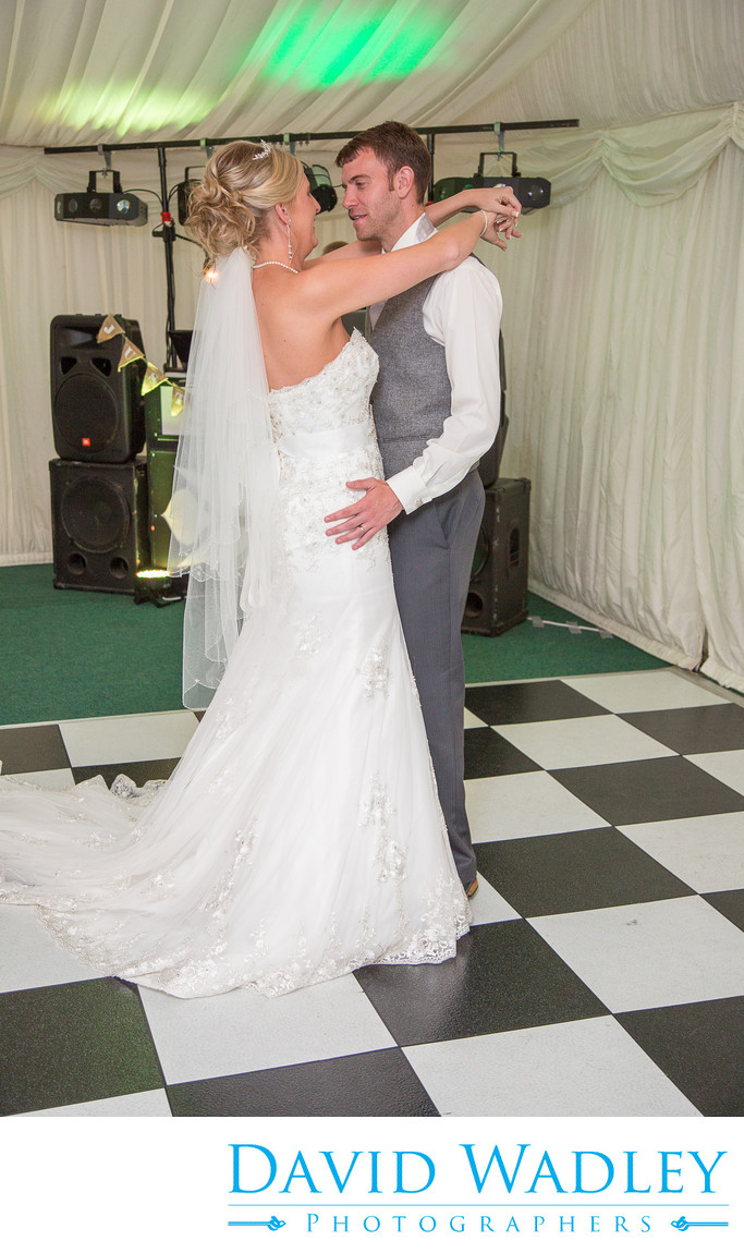 Brook Marston Farm Hotel Bride & Groom 1st Dance