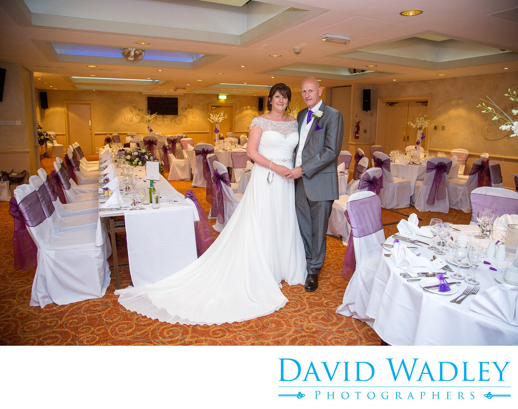 Wedding breakfast at Nailcote Hall
