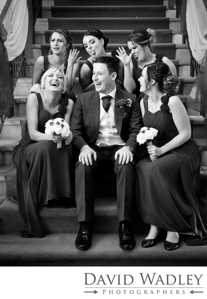Wedding laughs at Nailcote Hall