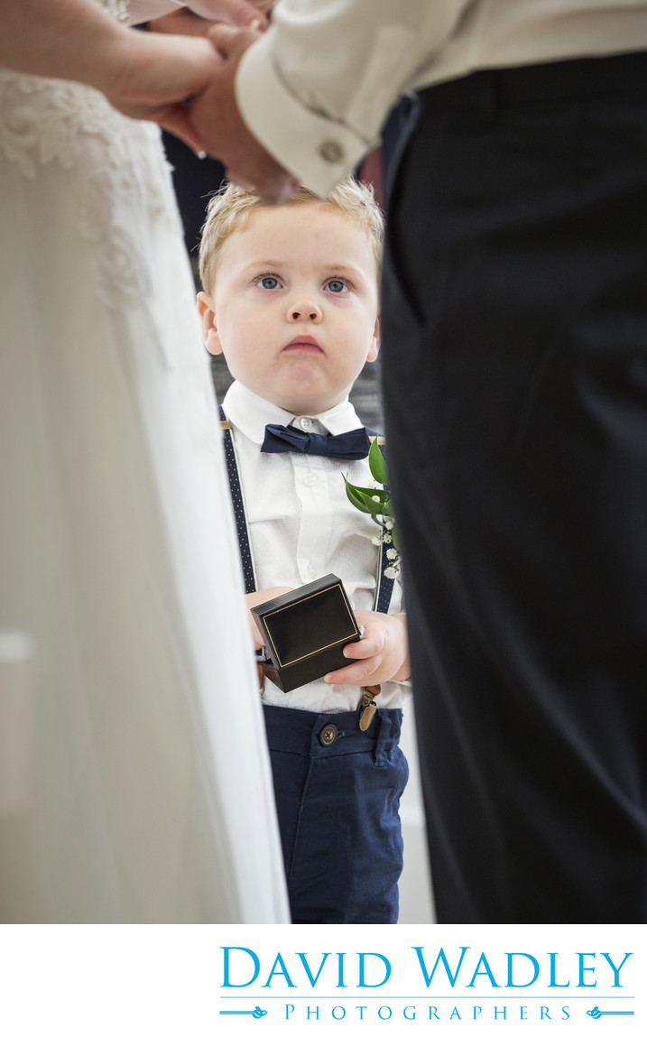 Son on Wedding Day