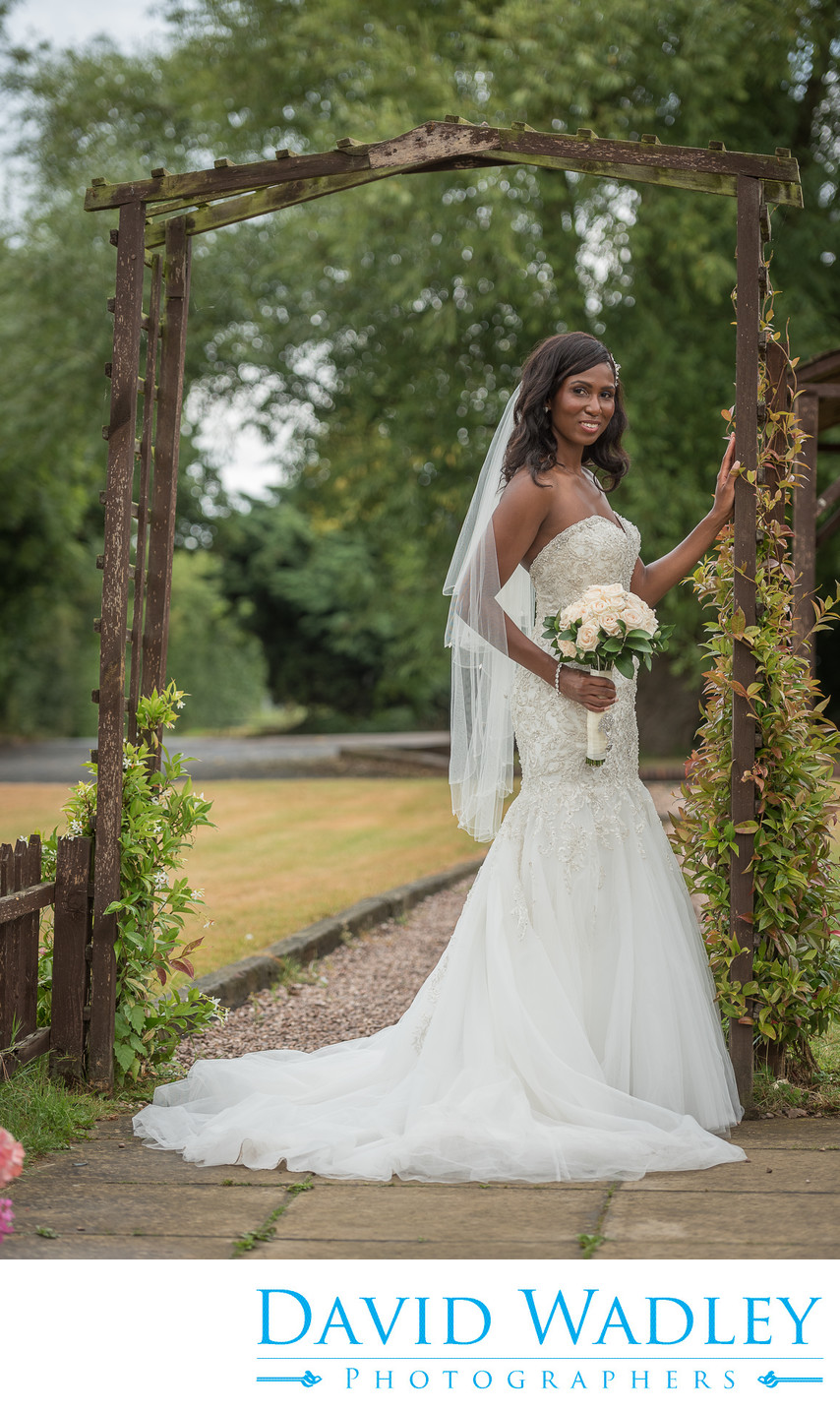Brook Marston Farm Hotel Bride in Archway