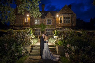 Stunning Gardens for wedding photography at Moxhull Hall.