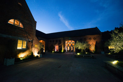 Nightime photography at Shustoke Barn.
