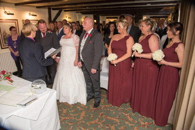 Brook Marston Farm Hotel Ceremony