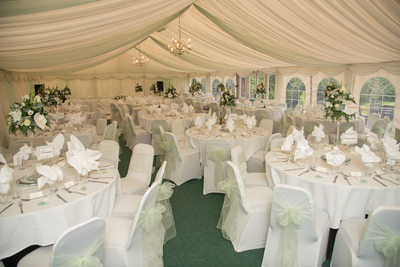 Brook Marston Farm Hotel Wedding Tables