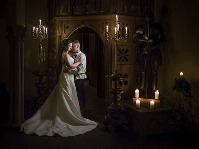 Candlelight Wedding at Coombe Abbey Hotel