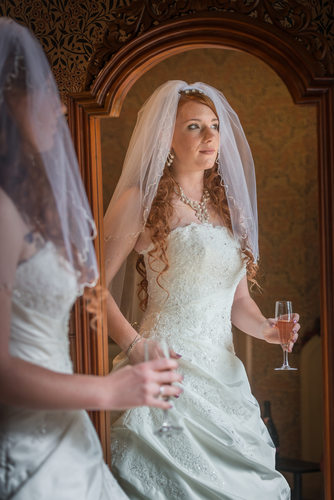 Grafton Manor Bride in Mirror
