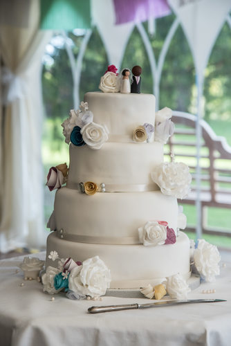 Wedding Cake at Grafton Manor