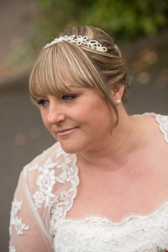 Brook Marston Farm Hotel Bride