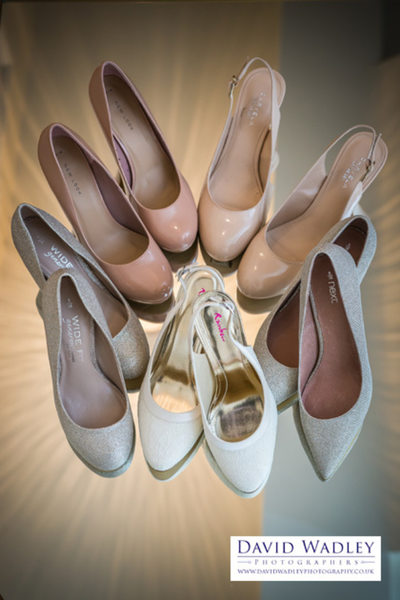 Wedding Shoes for Bride & Bridesmaids.