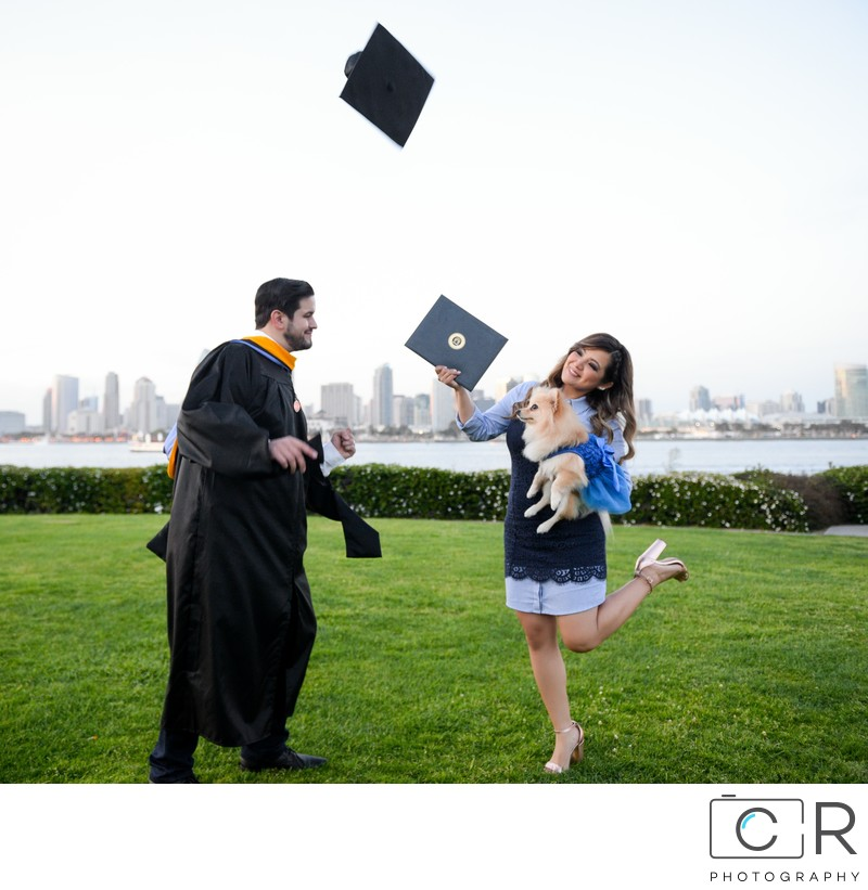 Oscar's Graduation photoshoot at Coronado