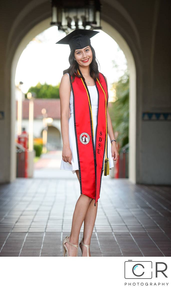 San Diego State University Graduation Photography 6