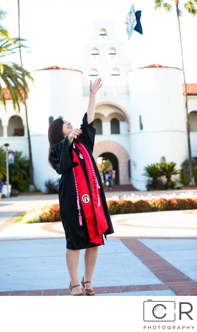 San Diego State University Graduation Photography 3