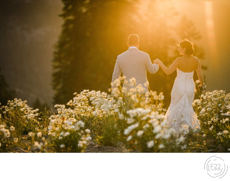 Lake Tahoe Wedding Photographers: Sunset
