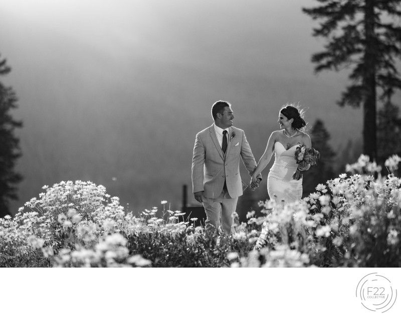Lake Tahoe Wedding Photographers: Intimate Sunset