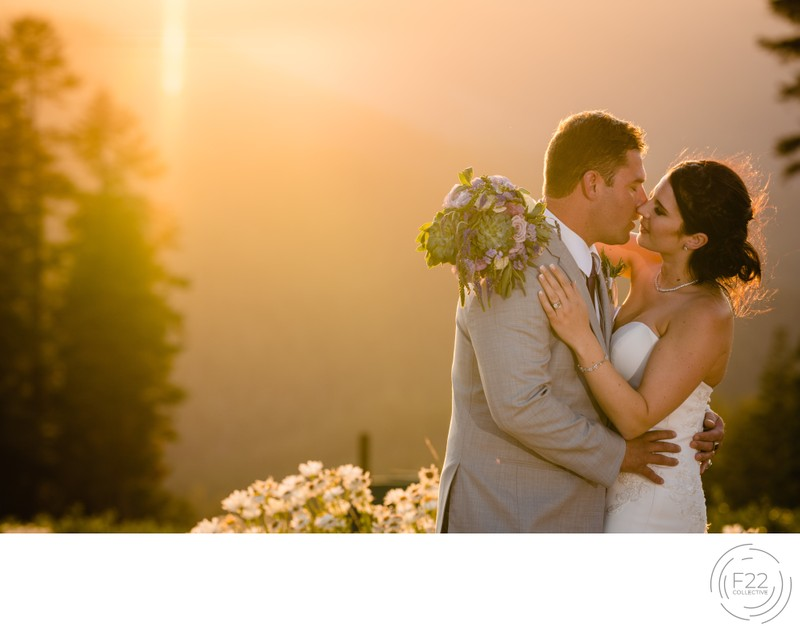 Lake Tahoe Wedding Photography: Sunset Romantics