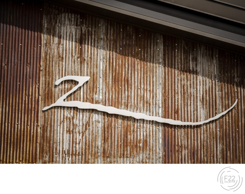 Lake Tahoe Wedding Photography: Zephyr Lodge Sign