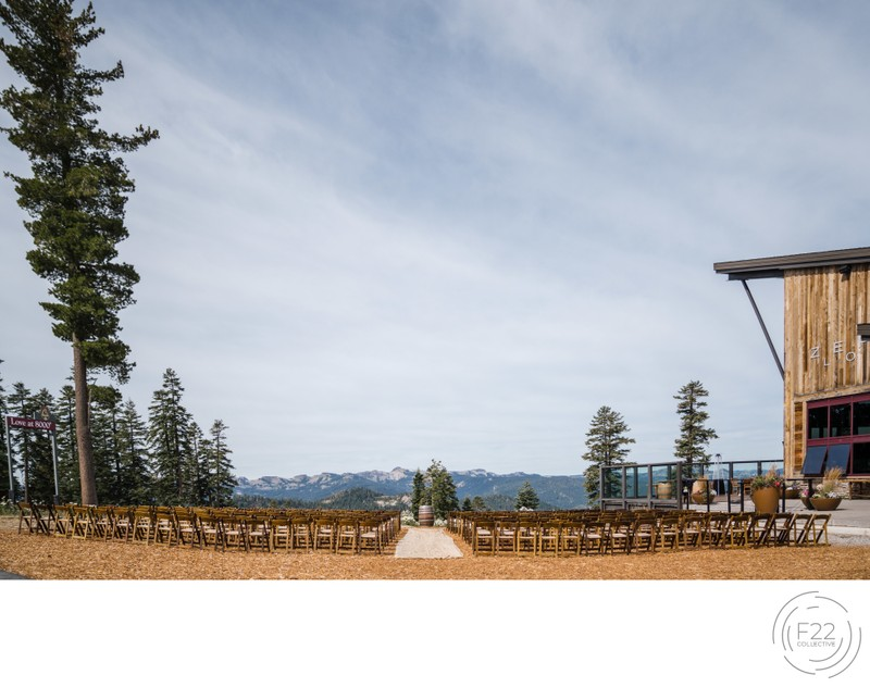 Lake Tahoe Wedding Photography: Ceremony Location