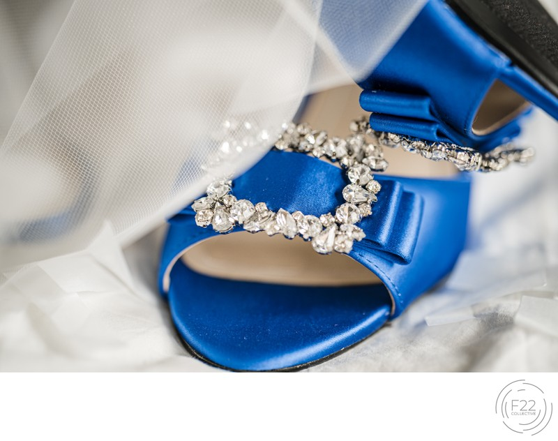 Lake Tahoe Wedding Photography: Something Blue Shoes