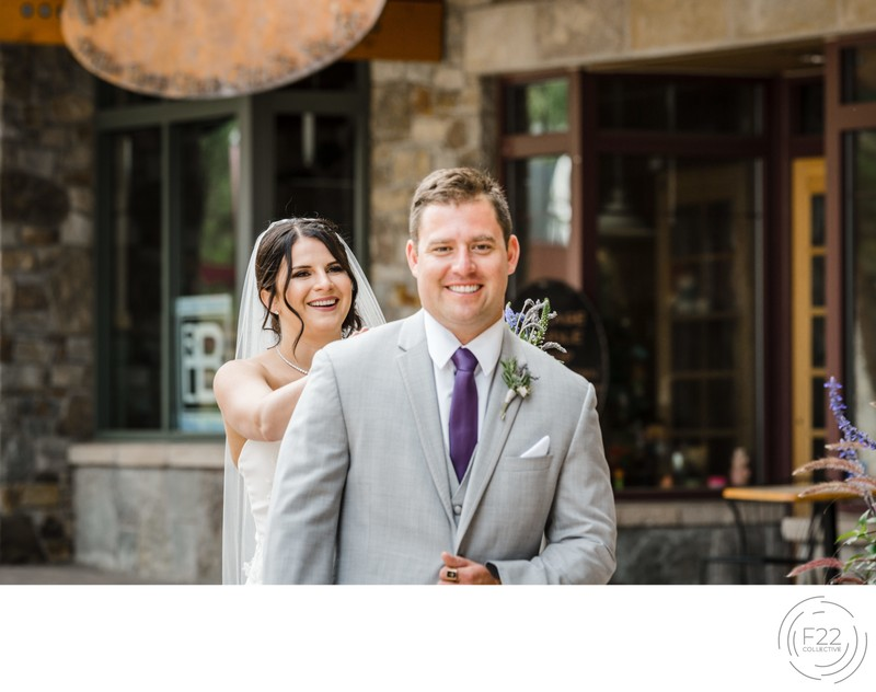 Zephyr Lodge Wedding Photography: First Look