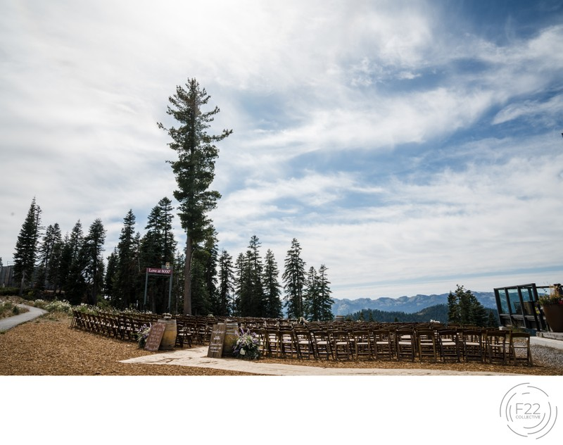 Top Zephyr Lodge Wedding Photographer: Ceremony Setup