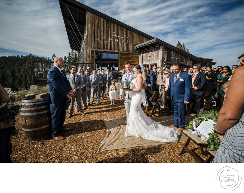 Top Lake Tahoe Photography Zephyr Lodge: Ceremony