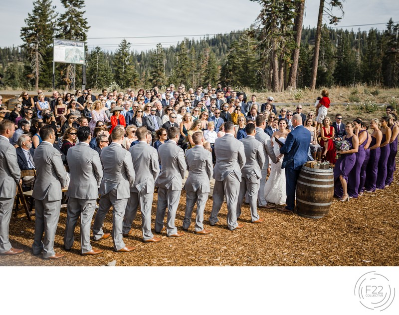 Top Lake Tahoe Photographers Zephyr Lodge: Ceremony